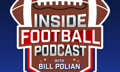 The Inside Football Podcast with Bill Polian tells historical stories of the NFL told by NFL Hall of Fame GM Bill Polian. Borderline partner Scott Schafer hosts the show and is a key personality every week.